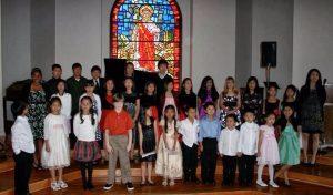 choir of kids